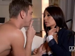 Fiery Latina Milf gets Double Penetrated!