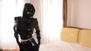 BDSM Sex Goddess Latex Lucy Masturbates till Orgasm  big ass sex goddess big tits high heels masturbation bdsm masturbate pussy gape butt latex orgasm big boobs enhanced tits pinky gothic houseoftaboo