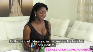 FemaleAgent Confident English beauty in superb lesbian casting ebony audition agent toys hardcore sexy orgasms amateur blonde british office lesbian femaleagent english reality casting hd interview busty czech