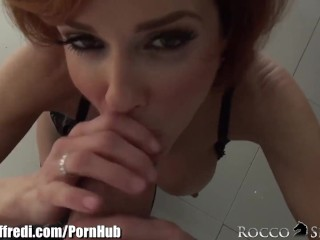 Roccosiffredi veronica avluv squirts from ass play 1