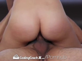 Castingcouch-x - hot latina sophia grace gets fucked on couch