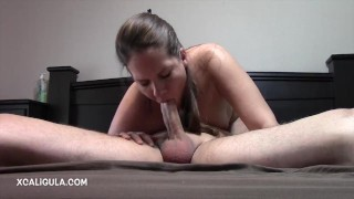 Preview 4 of Azzurra stuffing her mouth in 69
