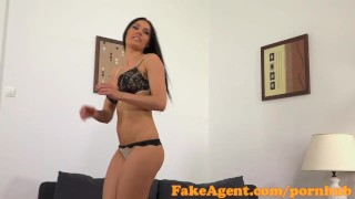 Preview 3 of FakeAgent Beautiful model sucks and fucks in Office