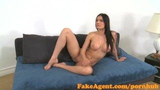 Preview 4 of FakeAgent Beautiful model sucks and fucks in Office