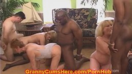 3 NASTY WHORING Grannies HOME