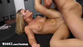 WANKZ - Hot Blonde Bangs Her Boss To Keep Her Job!