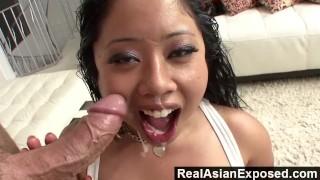 RealAsianExposed Busty Asian Gets Plowed And Facialized hardcore handjob asian big-ass blowjob face-fucking throat-fucking deepthroat natural-tits realasianexposed interracial chubby kia-tropic doggy-style busty facial