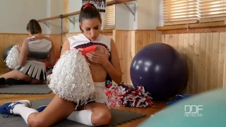 Preview 6 of Busty Pornstar Cheerleader