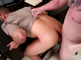 XXX porn - estel-two: Next Door Buddies Suck My DICK, Officer!