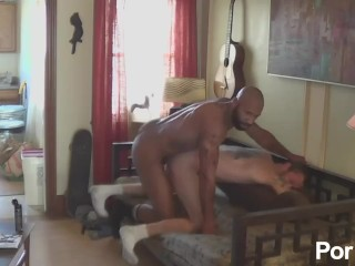Damon Doggs Fuck Filled Cum Holes - Scene 1