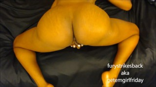 Preview 1 of POV ass fucking & massive squirting from hurricane fury