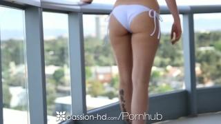 Passion-HD - Lexi Davis fucks hard cock and swallows cum
