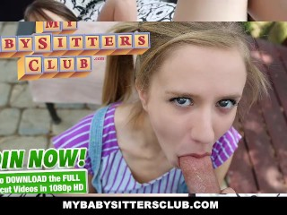 MyBabySittersClub - Dad catches Babysitter Webcamming