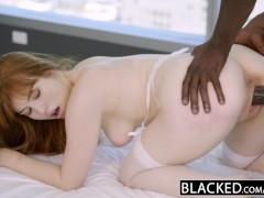 BLACKED Redhead Gwen Stark enjoys her...