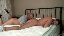 Men Over 30 Jake Jennings & David Chase Breaking The New Bed