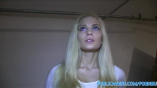 PublicAgent Hot Blonde with fine ass fucked in underground car park  hardcore publicagent blonde riding real camcorder hungarian big-cock huge-cock shaved blondes pov outside reality point-of-view home-made doggystyle