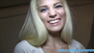 PublicAgent Hot Blonde with fine ass fucked in underground car park  big cock hardcore point of view publicagent blonde huge cock riding real camcorder hungarian shaved home made blondes pov outside reality doggystyle