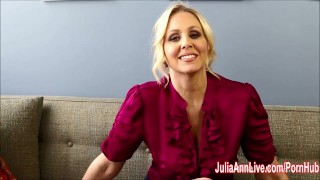 Bad Teacher Milf Julia Ann Shows You How To Get Extra Credit!  big tits masturbation dildo mom masturbate solo blonde mother teacher big boobs busty teacher fingering pussy adult toys fake tits huge boobs juliaannlive tutor