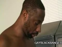 Hole Hunter And Ryan Rex - Gigantic Black Cock Penetrating Skinny White Ass