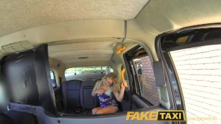 Preview 6 of FakeTaxi English cock in the ass for hot blonde Canadian passenger in taxi