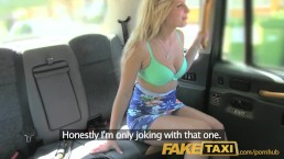 FakeTaxi English cock in the ass for hot blonde Canadian passenger in taxi