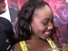 Chanell Heart Having A Threesome With White Guys