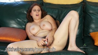 Eleanor gets orgasms all day long  hairy armpit all natural big tits hairy pussy hairy redhead dildo masturbate amateur thick curvy beaver adult toys atkhairy