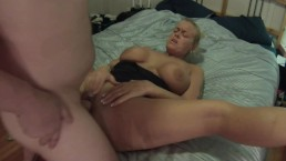 Getting facials after sucking and fucking my roommates cock.