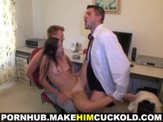 Make Him Cuckold - Fucking call-up hottie