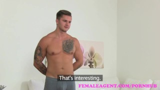 FemaleAgent Amazing casting ends with studs spunk all over sexy agents tits  office sex babe audition amateur blowjob blonde cumshot femaleagent casting hardcore couch reality czech orgasm interview pussy licking