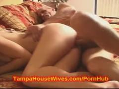 Teen wife FUCKS dirty old man