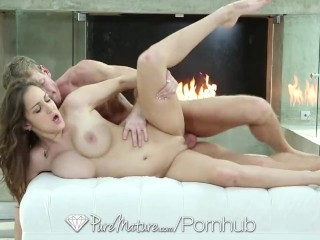PureMature - Younger Milf Kiera King fucked by hard cock