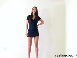 CastingCouch-HD Natalie the really tall girl rides a dick on camera
