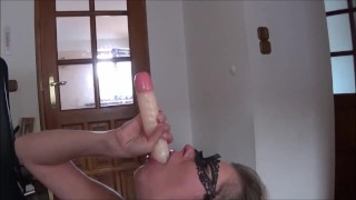 Extreme Triple Penetration. Huge Dildo Deepthroat, Stapon and Big Cock  big dildo squirting orgasm sloppy deepthroat extreme deepthroat triple penetration brutal deepthroat dildo deepthroat dp strapon squirt truutruu extreme rough gagging deepthroat adult toys