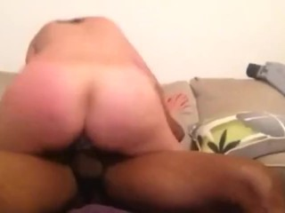 Amateur Rides Black Dick