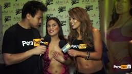 PornhubTV Selma Sins Interview at 2015 AVN Awards
