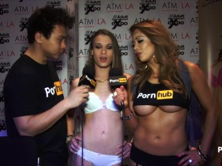 PornhubTV Kacy Lane Interview at 2015 AVN Awards