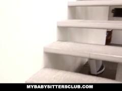 MyBabySittersClub – Blonde BabySitter wants to Fuck