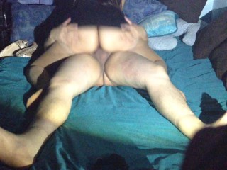 BIG ASS RIDING, nalgona montando verga