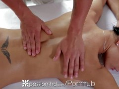 Passion-HD – Honey Demon is ready for a good passionate rubdown