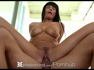 Passion-HD - Cum Covers Sexy Anissa Kates Face