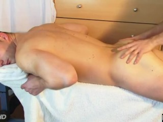 Real french straight male gets wanked his huge cock by a guy (Romain).