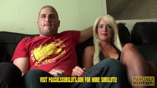 Preview: First ever cuckold scene at Pascalssubsluts.com spitting trailer cuckolding rough swinger orgasm pascalssubsluts kink squirting humiliation sloppy blowjobs submissive sluts