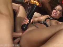 Circus Slut Gangbanged By Crew