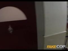 Fake Cop - Cumshot king copper shots cum like a bullet