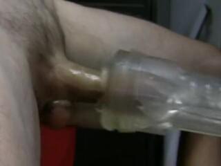 Fleshlight Machine Sucking Cumdrip