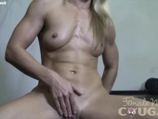 pussy wet muscle