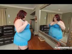 Redhead BBW Eliza Allure Takes on Shanes Huge Cock