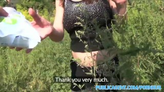PublicAgent Horny hitchhiking babes fuck for cash part 1 publicagent amateur real camcorder sex for cash cumshot natural-tits bubble-butt sex with stranger outdoors public outside pov reality romanian point-of-view sex for money