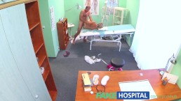 FakeHospital Slim blonde gets creampied after fucking in the hospital